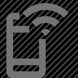 phone, signal, smartphone icon
