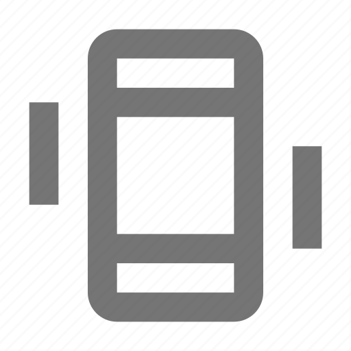 device, gadget, mobile, phone, smartphone, telephone, touchscreen, vibrate icon