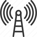 cellular, connection, data, mobile phone, network, satellite, signal icon