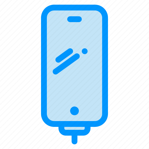 battery, charging, mobile, phone, smart icon