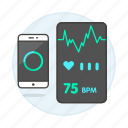 activity, app, apps, health, heart, helth, mobile, monitor, phone, rate, sensor, smartphone, tracker