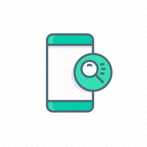 files, find, scan, search, virus icon