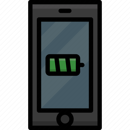 Battery, cell, colour, functions, mobile, phone icon - Download on Iconfinder