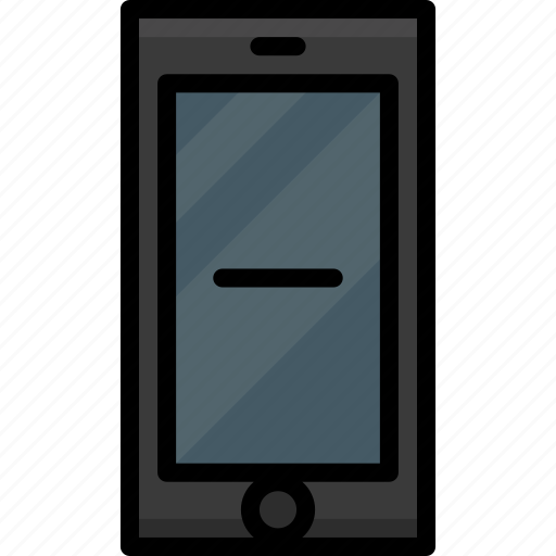 cell, colour, functions, mobile, phone, remove icon