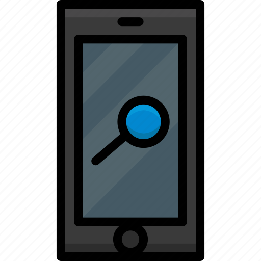 Cell, colour, functions, mobile, phone, view icon - Download on Iconfinder