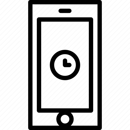 cell, functions, loading, mobile, phone, please, wait icon