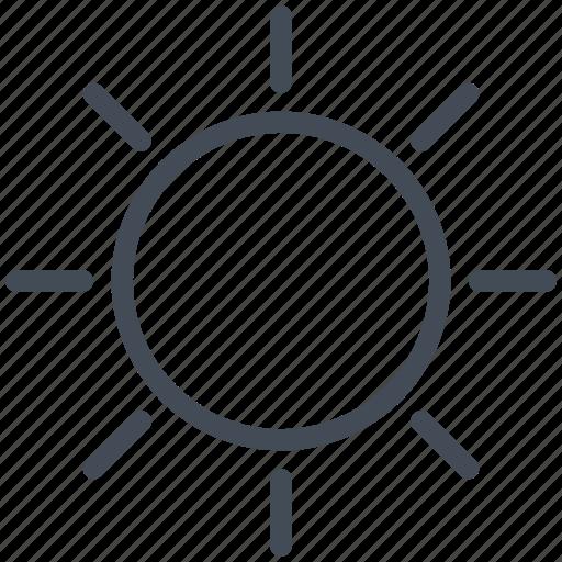 brightness, interface, mobile, smartphone icon