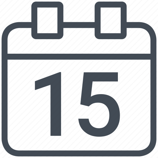 calendar, interface, mobile, smartphone, timing icon