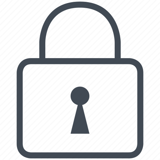 interface, key, mobile, padlock, security, smartphone icon