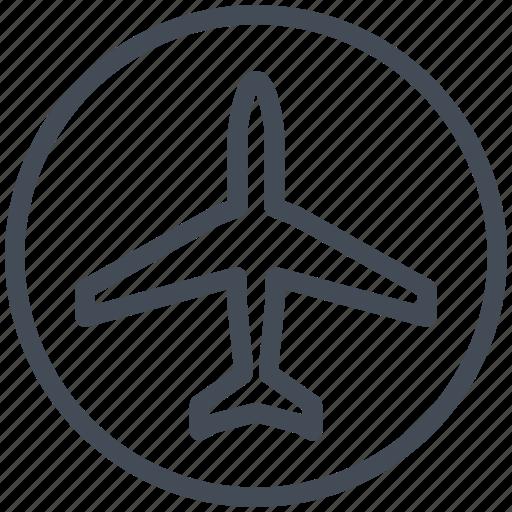 airplane, interface, mobile, plane, smartphone icon