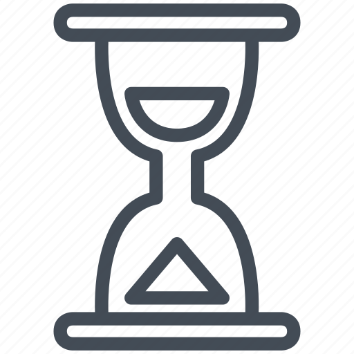 hourglass, installation, interface, mobile, smartphone, time icon
