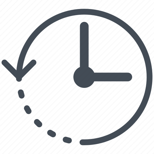 interface, mobile, retargeting, smartphone, time icon