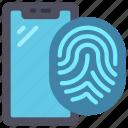 biometrics, cellular, device, thumb, print