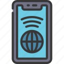 internet, connection, cellular, device, wifi