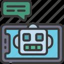 robot, assistant, cellular, device, ai