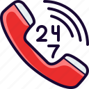 call, phone, service, support icon