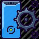 clean, gear, ios11, iphone, mobile, phone, sercive