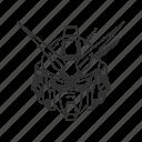 anime, cartoon, dendrobium, gundam, mech, robot, stardust icon