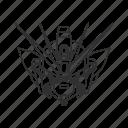 anime, cartoon, gundam, gundam wing, mecha, robot, wing gundam zero icon