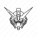 anime, cartoon, destiny gundam, gundam, mech, mobile suit, robot icon
