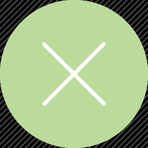 delete, dismiss, error, error icon, hide, remove, warning icon