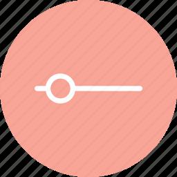 adjust, audio adjustment, slide control, slider icon