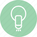 bulb, business, idea, lamp, light, light icon, startup icon
