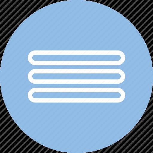 apps, list, menu, menu icon icon