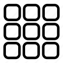applications, apps, grid, menu, menu icon