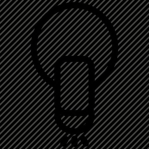 bulb, bulb icon, business, idea, lamp, light, startup icon