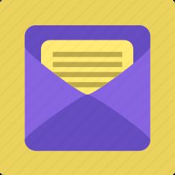 communication, conversation, email, inbox, message icon