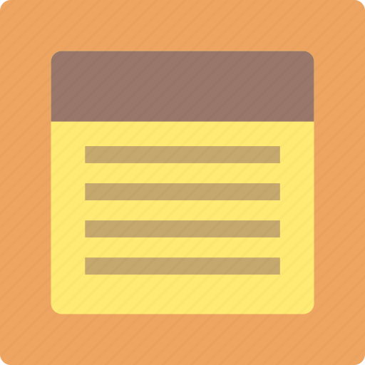 document, file, notepad, paper, text icon
