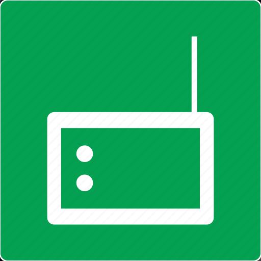 audio, media, music, radio icon
