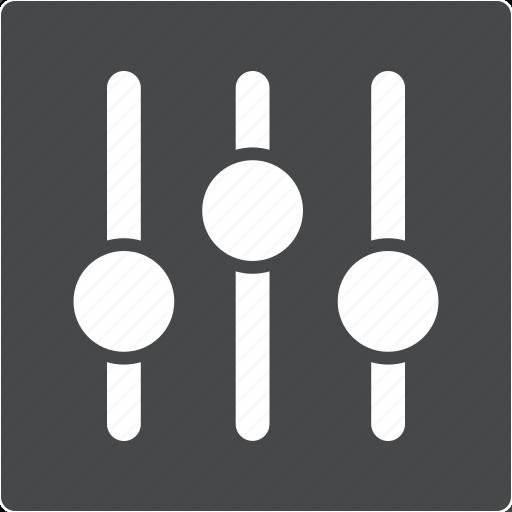configuration, control, music, preferences, setting icon