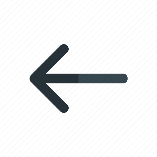 back, interaction, previous, smartphone, user icon