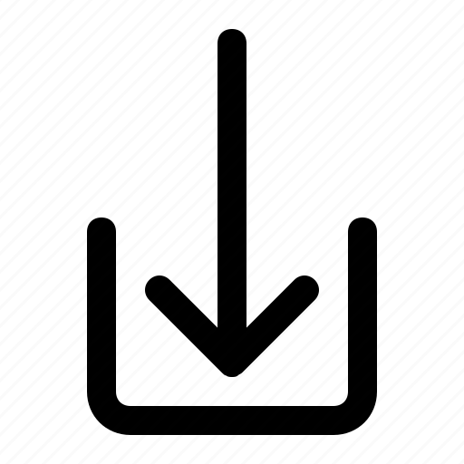 communication, down, download, internet, mobile, network icon