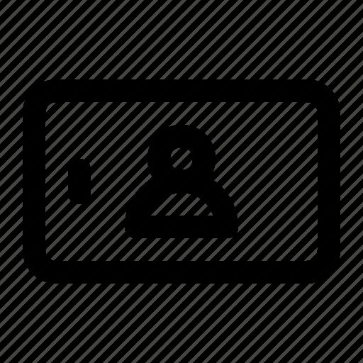 avatar, interface, landscape, mobile, profile, user icon