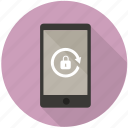 authentication, lock, mobile, password, protect, safe, security icon