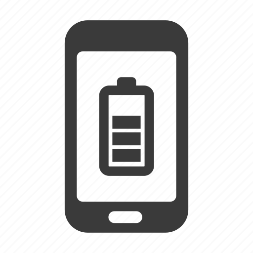 battery, charge, mobile, phone, smartphone icon