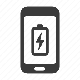 battery, charge, charging, empty, mobile, phone, smartphone icon
