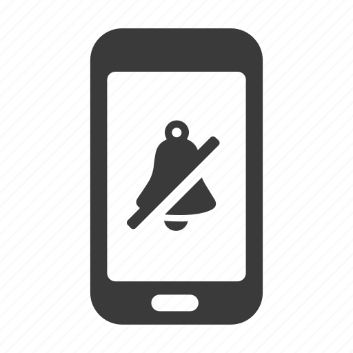 alarm, mobile, no, phone, smartphone, sound icon