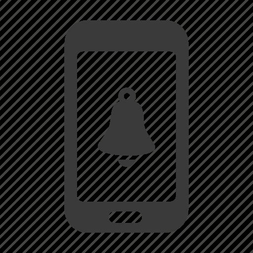 alarm, mobile, phone, smartphone, sound icon