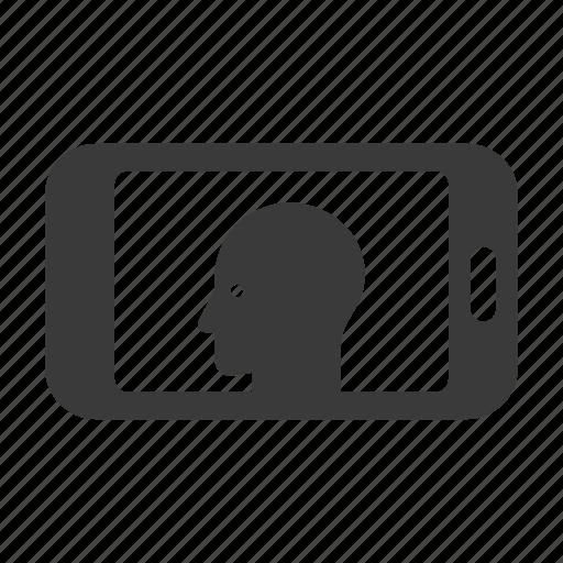 avatar, mobile, person, phone, profile, smartphone, user icon