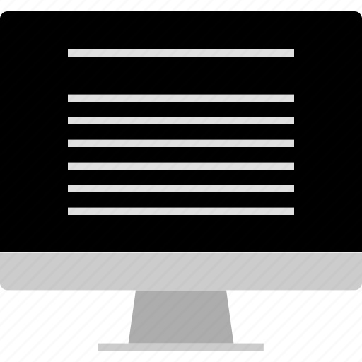 computer, layout, monitor, screen, website, wireframe icon
