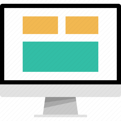 mockup, new, newsletter, online, web icon