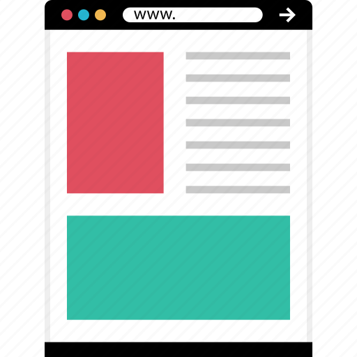 new, wireframes icon