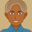 avatar, male, man, person, profile, user