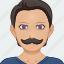 avatar, male, man, person, profile, user icon