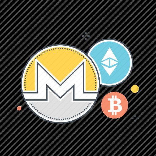 altcoin, altcoins, bitcoin, blockchain, crypto, cryptocurrency, ethereum icon