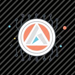 altcoin, altcoins, ardor, coin, crypto, cryptocurrency icon